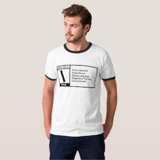 Unreifer zufriedener T - Shirt