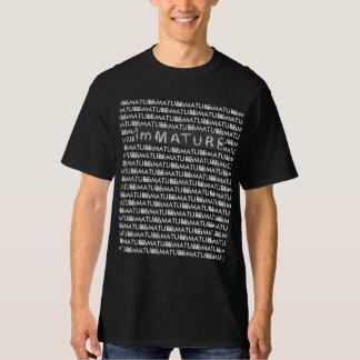 unreifes langes T-Stück T-Shirt
