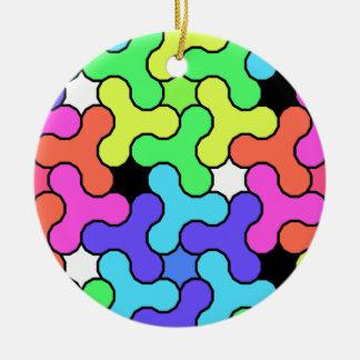 Unruhe-Spinner-Entwurf Keramik Ornament