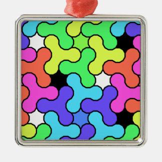 Unruhe-Spinner-Entwurf Silbernes Ornament