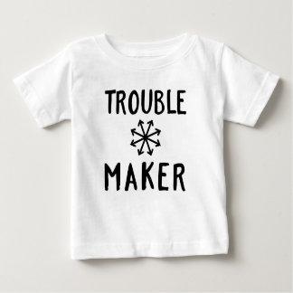 Unruhestifter-Chaos scherzt T-Shirt Baby-Kleidung