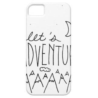 Uns gelassen Adventure-01 Hülle Fürs iPhone 5