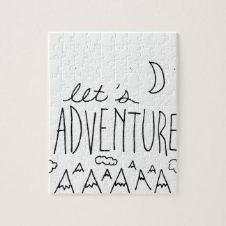 Uns gelassen Adventure-01 Puzzle