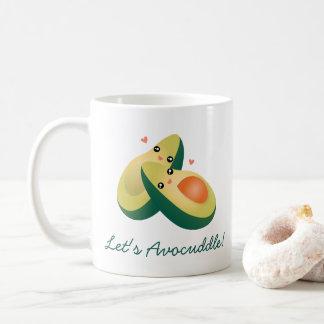 Uns gelassen Avocuddle lustiger niedlicher Kaffeetasse