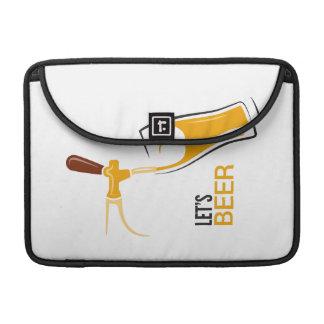 Uns gelassen Bier Sleeve Für MacBook Pro