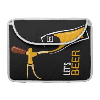 Uns gelassen Bier Sleeve Für MacBooks