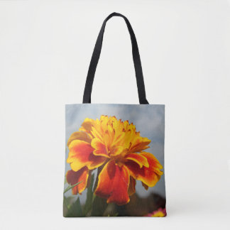 Uns gelassen Blumeneinkaufen! Tasche