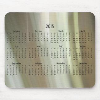 Unscharfer Farbe mousepad Kalender 2015