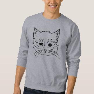 unschuldiges Kätzchenpullover-Sweatshirt Sweatshirt