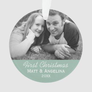 Unser erstes WeihnachtsFoto - Hochzeit oder Ornament