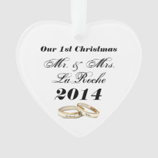 Unser erstes Weihnachtskundengerechter Herr u. Ornament