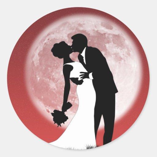 Unser Hochzeits-Aufkleber