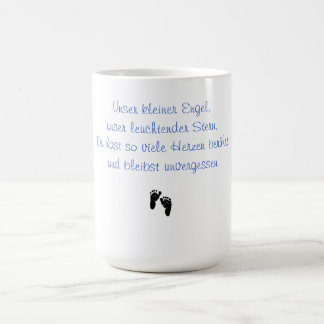 Unser kleiner Engel Erinnerungstasse Kaffeetasse