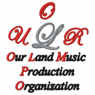 Unser Land-Musik-Gewohnheit gesticktes Shirt