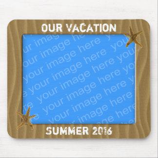 Unser Sommer-Ferien-Foto-Rahmen Mousepads