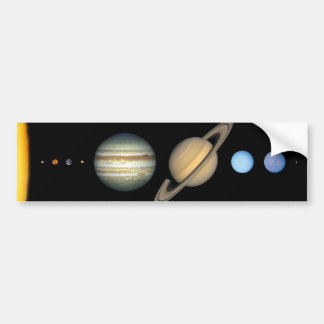 Unser Sonnensystem Autoaufkleber