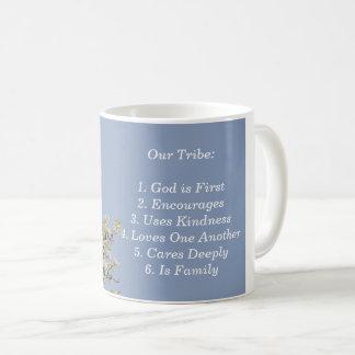 Unser Stamm, hebend, Güte, Ermutigung empor Kaffeetasse