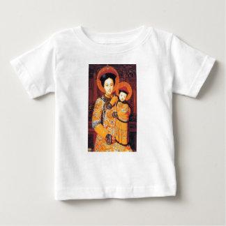 Unsere Dame chinesischen der Jungfrau Mary der Baby T-shirt