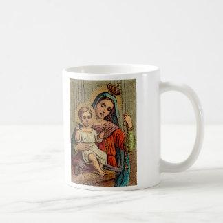 Unsere Dame des heiligsten Rosenbeetes Kaffeetasse