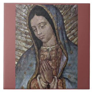 UNSERE DAME OF GUADALUPE KERAMIKFLIESE