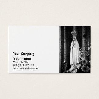 Unsere Dame von Fatima Visitenkarte
