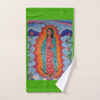 Unsere Dame von Guadalupe Badhandtuch Set