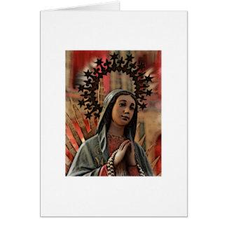 Unsere Dame von Guadalupe Karte