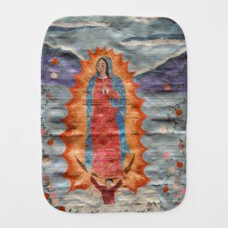 Unsere Dame von Guadalupe (Papyrus-Version) Baby Spucktuch