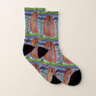 Unsere Dame von Guadalupe Socken