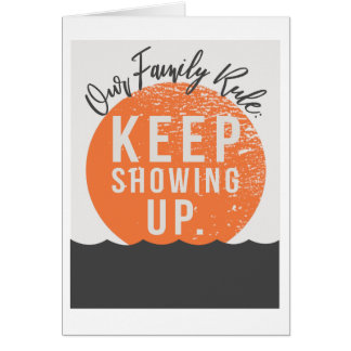 """Unsere Familien-Regel 5"""""""" Karte x7"""