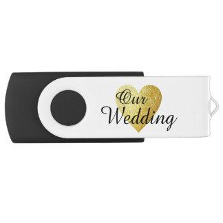 unsere Hochzeit photographies USB Stick