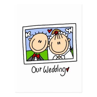 Unsere Hochzeits-Fotografie-T-Shirts und Geschenke Postkarten