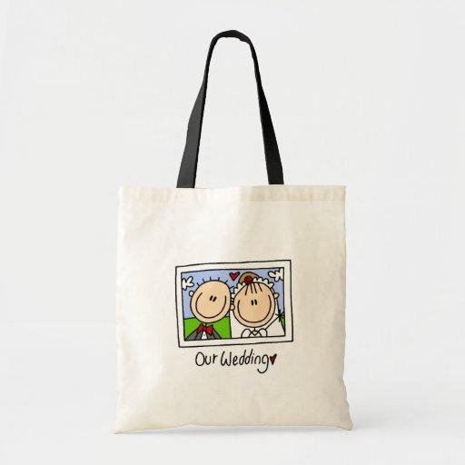 Unsere Hochzeits-Tasche