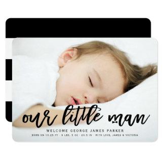 Unsere kleine 12,7 x 17,8 cm einladungskarte