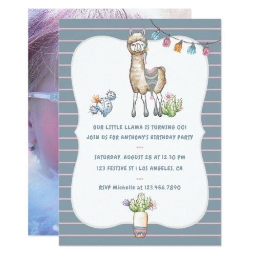 ... Unsere Kleine Lama Kindergeburtstag Party Einladung ...