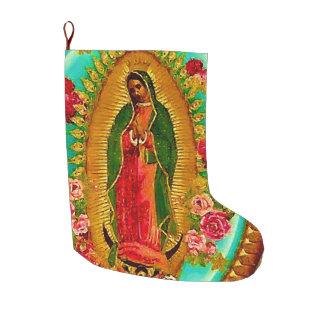 Unsere mexikanische Heilig-Jungfrau Mary Großer Weihnachtsstrumpf