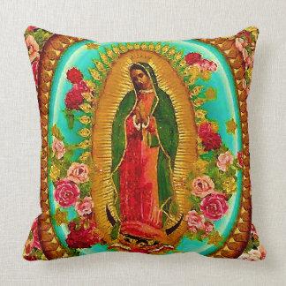 Unsere mexikanische Heilig-Jungfrau Mary Kissen