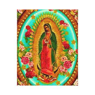 Unsere mexikanische Heilig-Jungfrau Mary Leinwanddruck