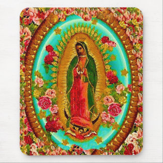 Unsere mexikanische Heilig-Jungfrau Mary Mauspad