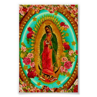 Unsere mexikanische Heilig-Jungfrau Mary Poster