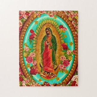 Unsere mexikanische Heilig-Jungfrau Mary Puzzle