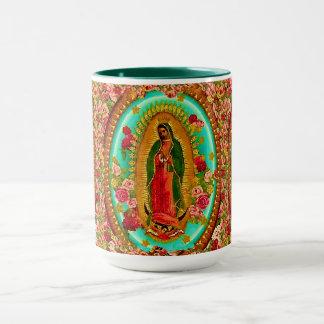Unsere mexikanische Heilig-Jungfrau Mary Tasse