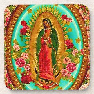 Unsere mexikanische Heilig-Jungfrau Mary Untersetzer