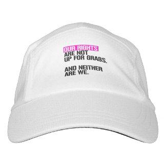 Unsere Rechte sind nicht oben für Zupacken - - Headsweats Kappe