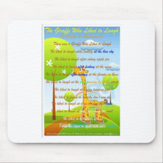 Unsere schönen Kinder ein Seiten-Buch auf einem Mauspads