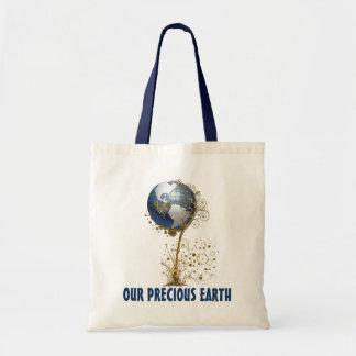 Unsere wertvolle Erde Budget Stoffbeutel