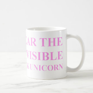 Unsichtbare rosa Unicorn-Tasse