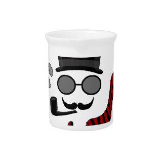 Unsichtbarer Mann Getränke Pitcher