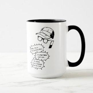 Unsichtbarer Mann Tasse