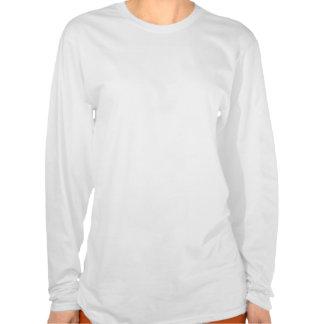 Unsichtbares Krankheits-Weihnachtslicht-Band T-Shirts
